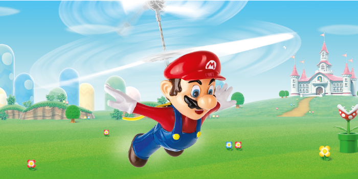 Flying Cape Mario